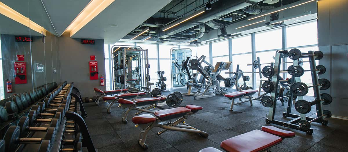 Fitness first at marina bay financial centre mbfc - Capital tower fitness first swimming pool ...