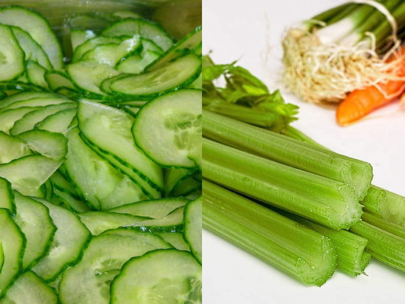 Cucumber And Celery