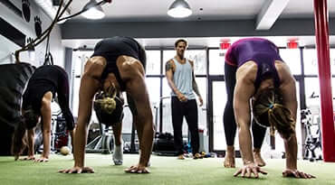 Fitness First Singapore Animal Flow Workout Class