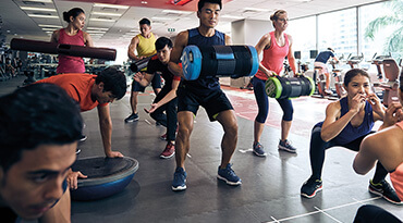 Fitness First Singapore Circuit Workout Class