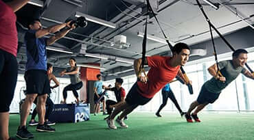 Fitness First Singapore Freestyle Group Training Hiit Class