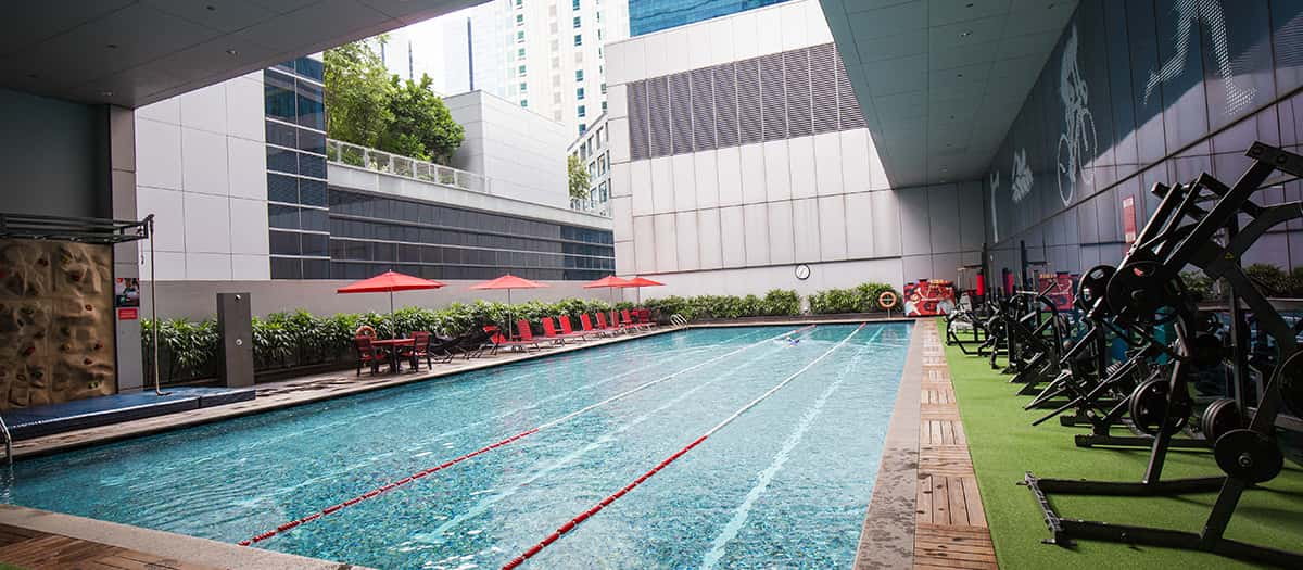 Fitness first capital tower gym fitness centre in - Fitness first swimming pool singapore ...