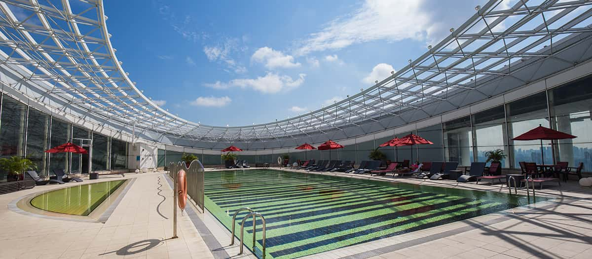 Fitness first fusionopolis gym fitness centre in singapore - Fitness first swimming pool singapore ...