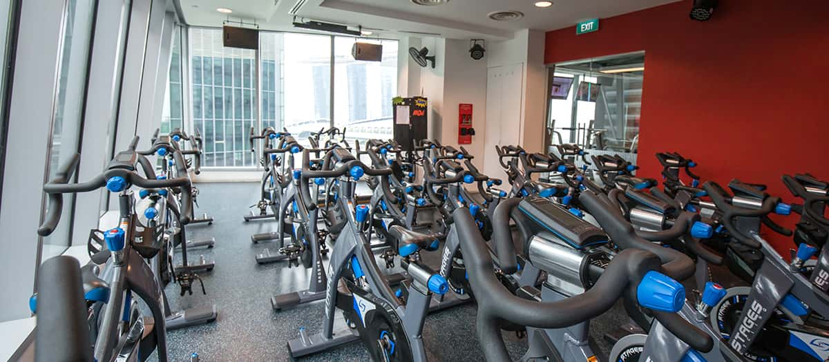 Fitness first one raffles quay gym centre in singapore - Capital tower fitness first swimming pool ...