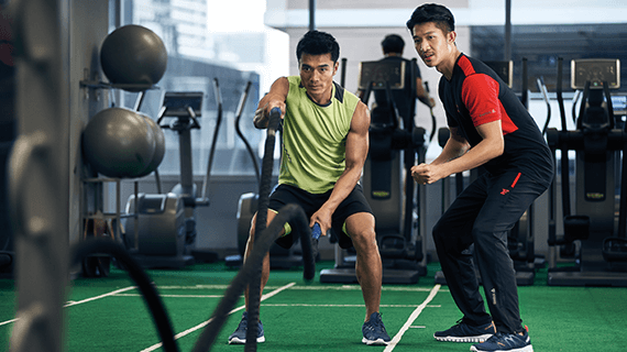 Personal workout training for beginners in singapore