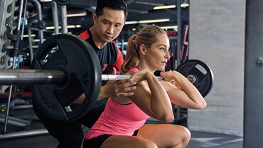 personal gym trainer in singapore